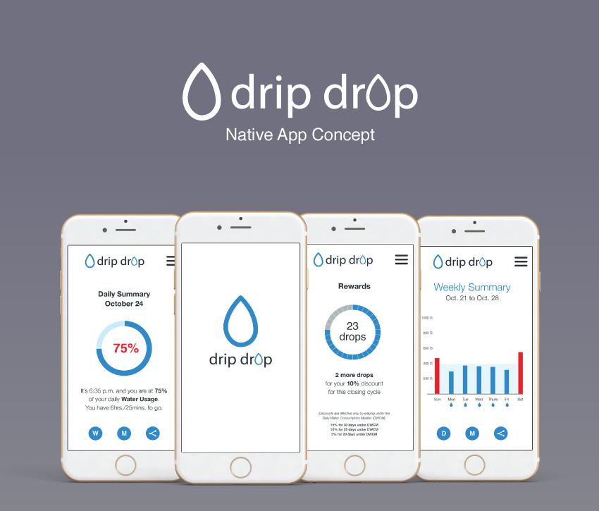 Drip Drop App